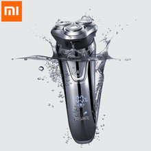 XIAOMI SO WHITE ES3 Electric Razor Shaver Wireless 3D Smart USB Charging IPX7 Waterproof 3 Head LED Display for Men