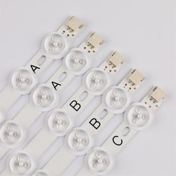 100% New 5pcs/Kit LED strip for FINLUX 39 TV 39FPD274D 39FLHY168D 39FLHYR180S 40FMD294B P VES400UNDS 02 40 NDV REV1.0 1