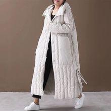 Long Coat Women Winter Female Coats and Jackets Parkas Mujer 2019 Plus Size Wint