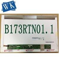 Frete grátis N173FGE-E23 b173rtn01.1 b173rtn01.3 b173rtn01 LP173WD1-TPE1 para acer V3-772 30pin portátil led tela lcd