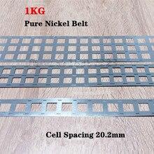 1KG pure nickel tab 18650 li-ion battery nickel strip, battery Ni belt,Pure nickel belt Spot welding battery tablets
