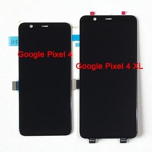 """Image 2 - Originale Amoled M & Sen 5.7 """"Per Google Pixel 4 Schermo LCD Display + Touch Panel Digitizer Dello Schermo Per 6.3"""" Google Pixel 4XL"""