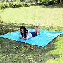 215*215 cm Oxford Outdoor Camping Matte Pad Wasserdichte Doppelseitige Picknick Zelt Decke Faltbare Strand Matte Boden Blatt plane Matten