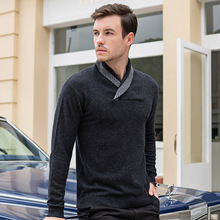 100% Wool Sweaters In Autumn and Winter Ugly Christmas Sweater Men Cashmere Mens