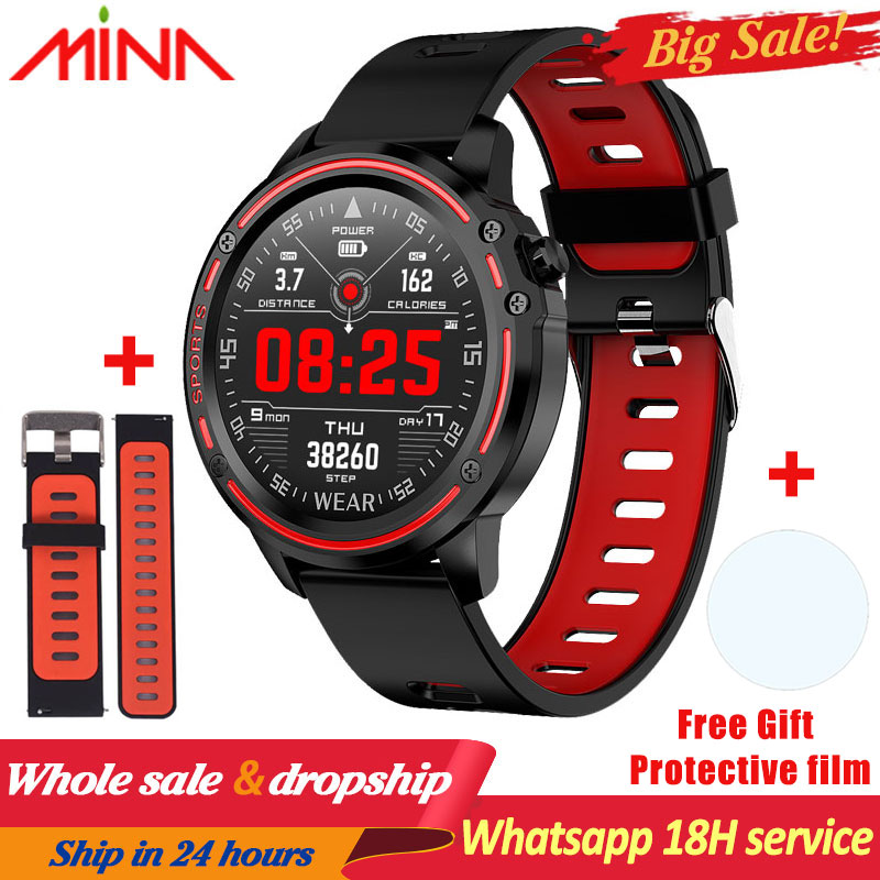 L8 Smart Watch Men watch IP68 Waterproof SmartWatch ECG Blood Pressure Heart Rate sports fitness pk L5 L9 smart watch title=