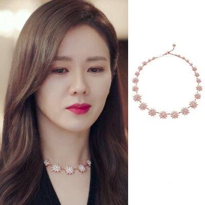 snow Hyun Bin Son Ye Jin Stud ear Korean dramas TV For Women Earrings pendientes brincos ornament