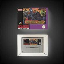 Super Ghouls n fantômes EUR Version carte de jeu daction avec boîte de vente au détail