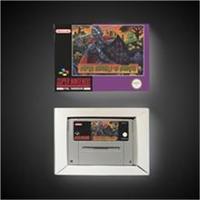 スーパー悪鬼 n幽霊 ユーロバージョンアクションゲームカードとリテールボックス
