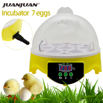 7 Egg Automatic Incubator Poultry Hatchery Machine Brooder Digital Chicken Duck Bird Temperature Control Chicken Hatcher 30% off 1