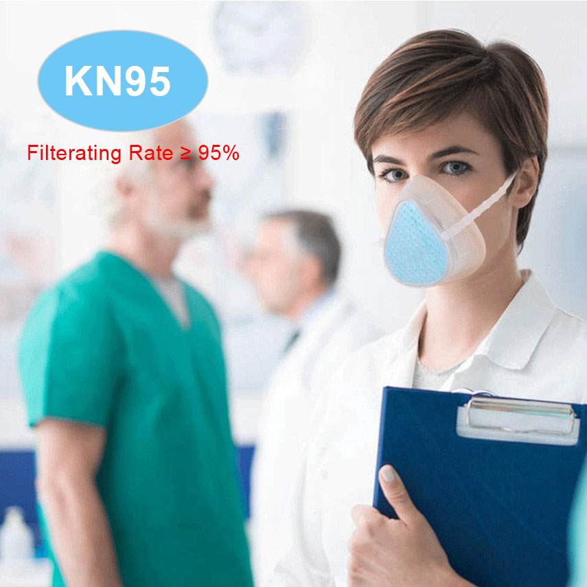 Mask N95 Respirator With Filter Adult Anti PM2.5 Mask Protection Masks N95 Mask Reusable Kids Anti Dust Masks