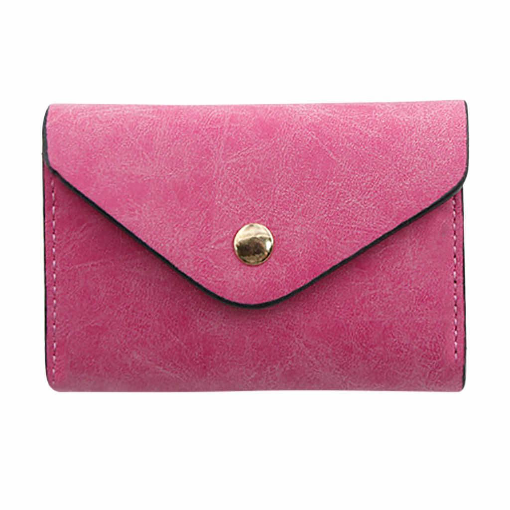 Aelicy mężczyźni portfele PU skórzany uchwyt na karty portfel kobiet sprzęgła poduszka projektant małe portfel męski portfel Unisex poręczna torba