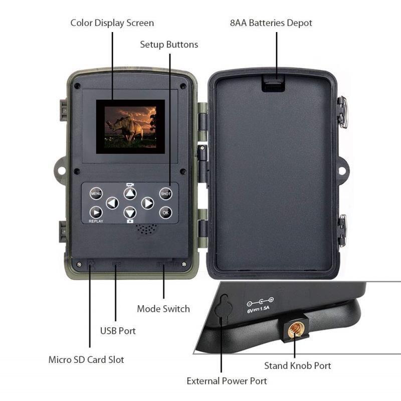 segundo gatilho velocidade câmeras de caça