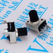 09, tipo horizontal dobrado rv09 stalked b103 10k 0932 wh09 lado tom potenciômetro de volume conector