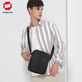 Tigernu Марка Кроссбоди  мужчины сумка женская сумка брызгозащитный нейлоновый мини Ipad сумка сумка для женщин