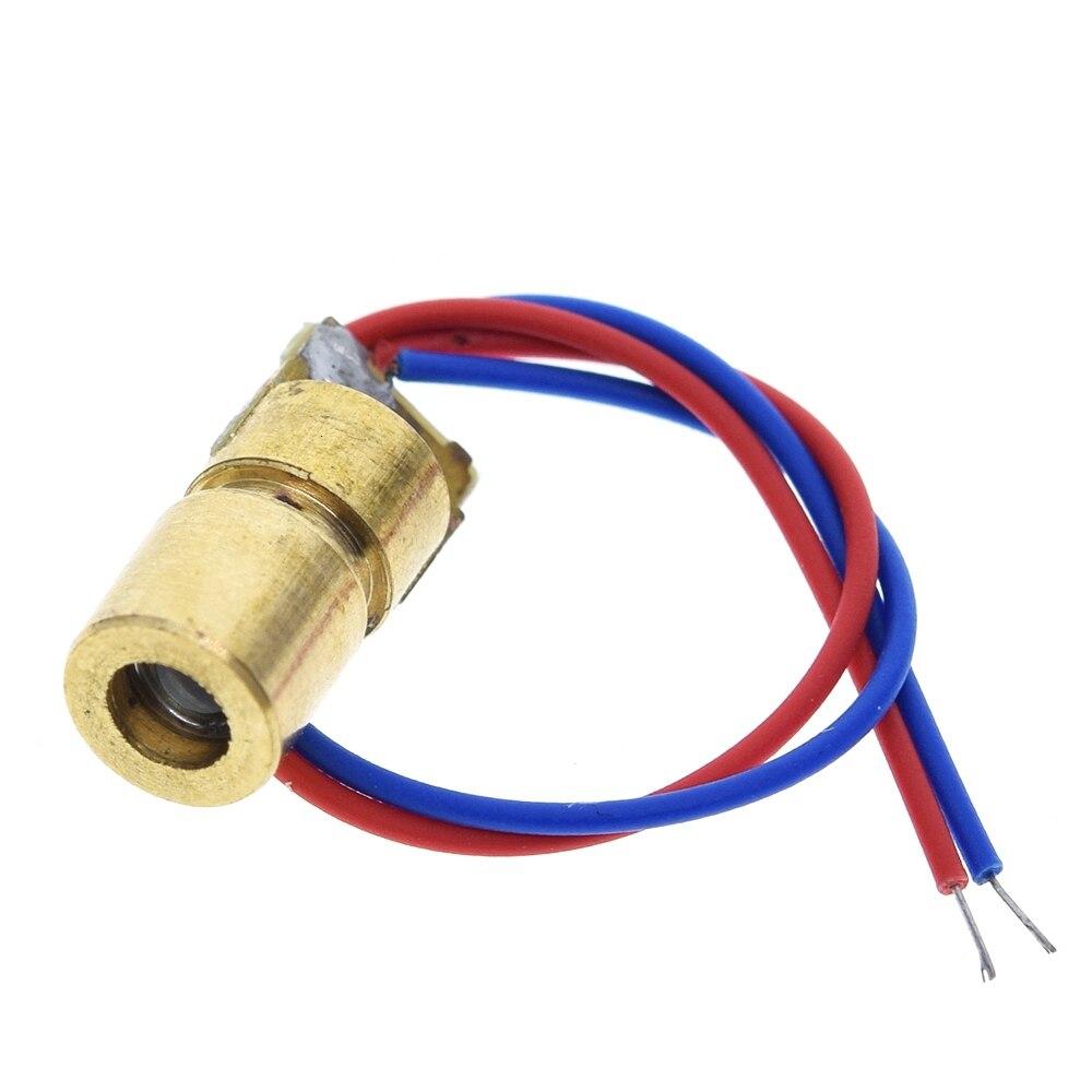 ShengYang 1PCS 5V 650nm 5mW Adjustable Laser Diode With Adjustable Sleeve 1