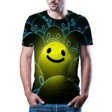 Yaz 2021 yeni 3D animasyon hip-hop T-shirt moda T-shirt 3D bask abuk kuruyan T-shirt