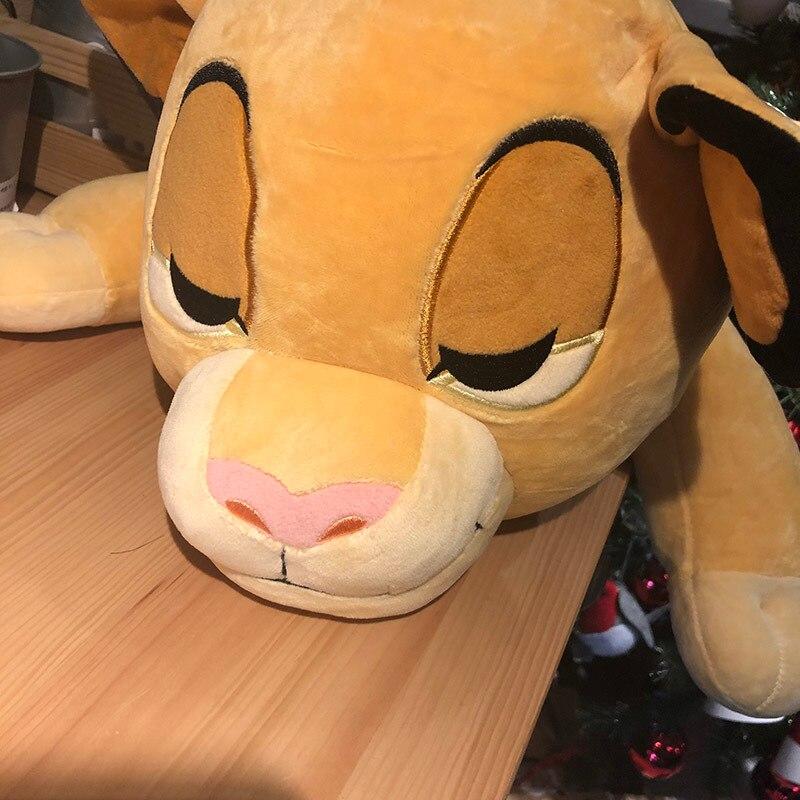60cm Good Quality Sleeping Simba The Lion King Plush Toys Anime Simba Soft Stuffed Animals Doll Cuddleez Soft Pillow Toy