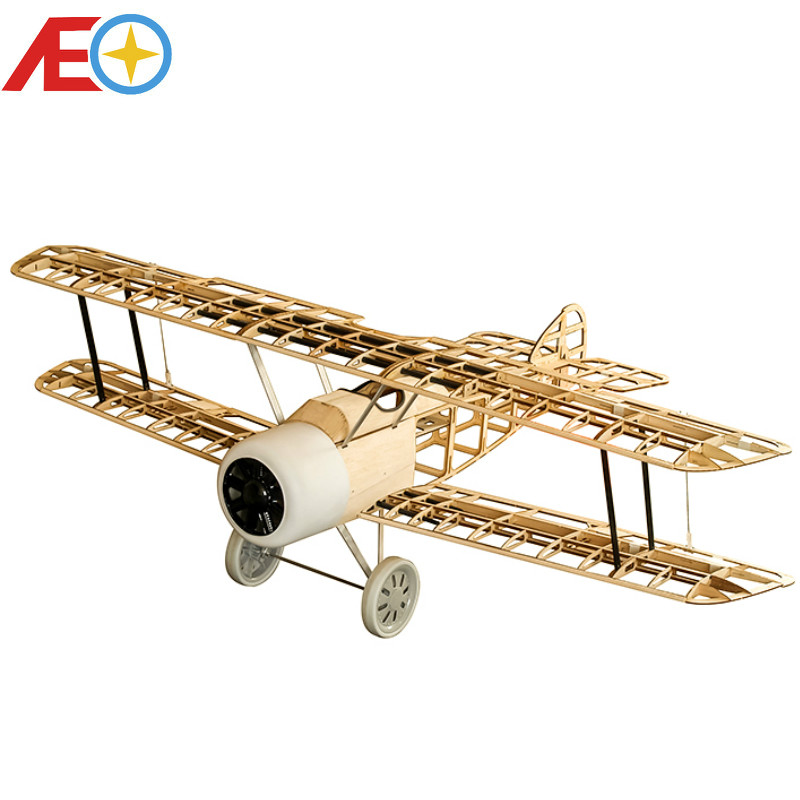 Sopwith Camel WW1 Fighter Laser Cut 1520mm (Gas Power and Electric Power) Balsawood airplane models Building RC Toys Woodine image