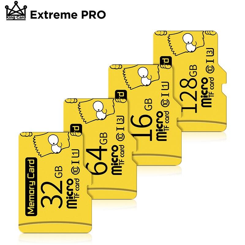 Высокая скорость cartao de memoria 32 Гб UHS-1 U1 карта mirco-sd 8 Гб оперативной памяти, 16 Гб встроенной памяти, слот для карт памяти 64 Гб 128 ГБ TF карта с факти...