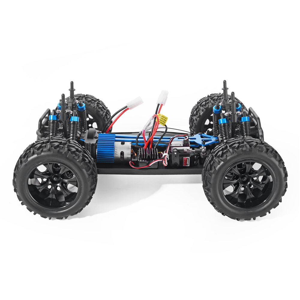 Image 4 - HSP RC Car 1/10 Scale 4wd Off Road Monster Truck 94111 Electric Power 4x4 vehicle Toys High Speed Hobby Remote Control CarRC Cars   -