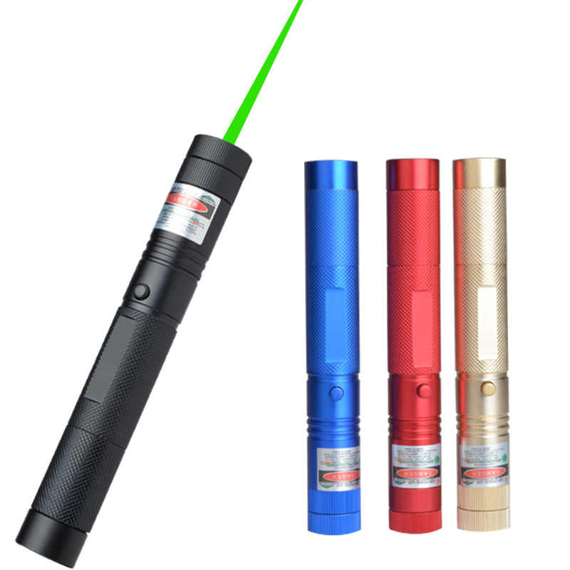 10000 м 532 нм Зеленый Лазерный Прицел Лазеры точка мощное устройство Регулируемый фокус лазер с лазерной 303