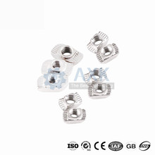 100pcs 50 pcs  M3/M4/M5*10*6 For 20 Series Slot T-nut Sliding T Nut Hammer Drop In Nut Fasten Connector 2020 Aluminum Extrusions prusa i3 mk3 bear upgrade 2040 v slot aluminum extrusions mk2 bear aluminum extrusions kit