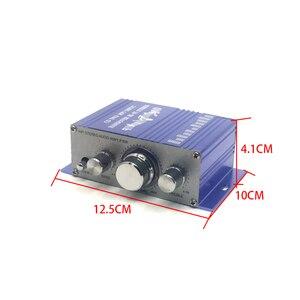 Image 5 - Мини усилитель KYYSLB HY2001 2,0 20 Вт * 2 12 В, домашний аудио мебель, автомобильный усилитель Hi Fi, 20 20 кГц