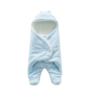 Image 4 - Túi Ngủ cho bé 68*80cm Nỉ mặc Túi Ngủ Cho Bé Mùa Đông Footmuff Saco Bebe Cochecito Dormir Sắc De couchage Enfant