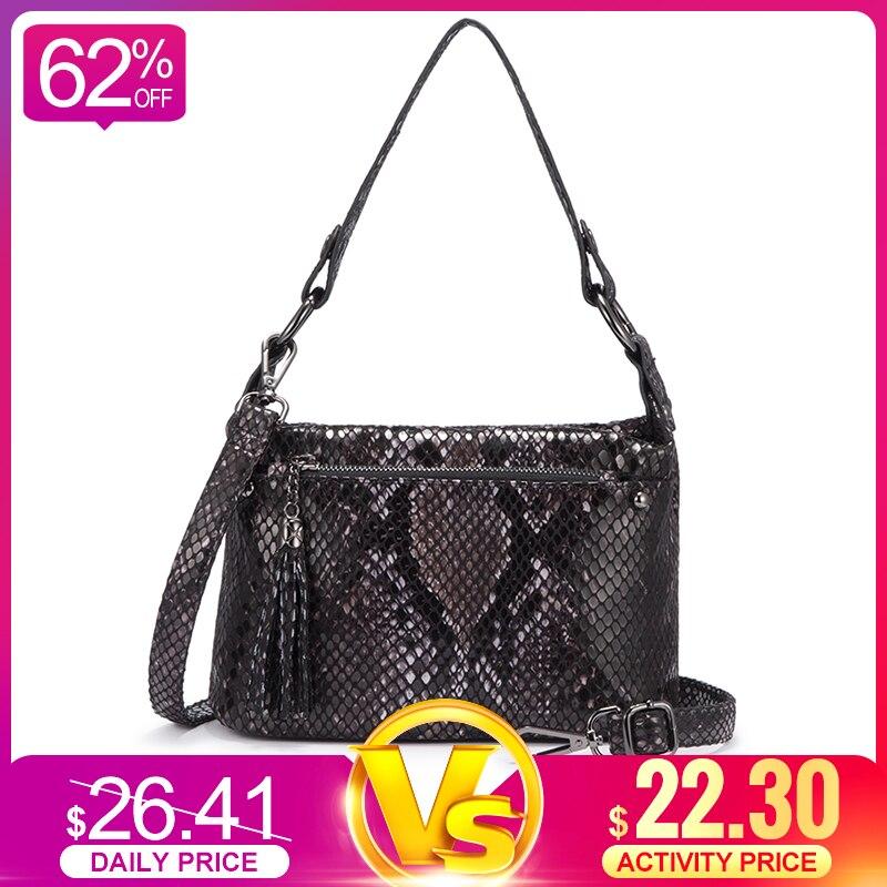 Realer Women Shoulder Bags For Women 2019 Luxury Handbags Women Bags Designer Crossbody/messenger Bag Ladies Tote With Tassel