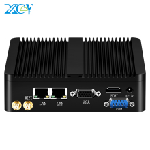Micro Computer Mini Pc Windows Linux Wifi Intel Celeron Fanless 2xrs232 Industrial J1900