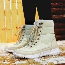 KANCOOLD ботинки; зимняя обувь; женские зимние ботинки; женские ботинки на платформе; зимние женские теплые ботинки; botas mujer; коллекция года; белые ботинки; большие размеры