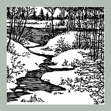 ZATWBS Forest creek Clear Stamps For DIY Scrapbooking/Card Making/Album Decorative Rubber Stamp Crafts azsg creek in the forest clear stamps for diy scrapbooking card making album decorative rubber stamp crafts