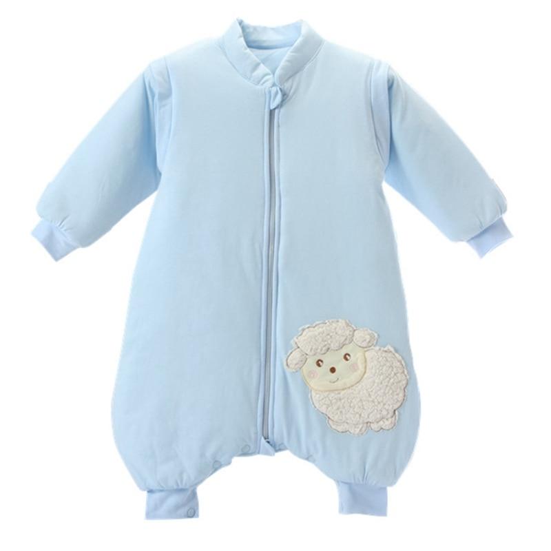 Detachable Sleeve Boys Girls Baby Kids Baby Sleeping Bag Cotton Baby Sleep Sacks Autumn Winter Children Blankets
