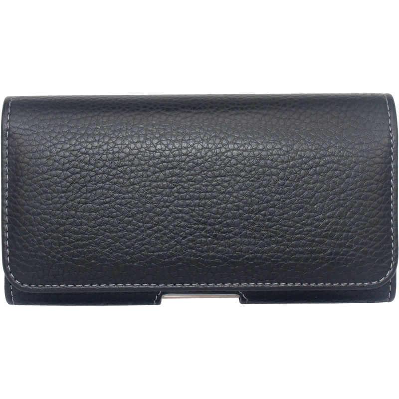 Mihaivin hommes rétro PU cuir ceinture sac cellule étui de téléphone portable porte-monnaie poche mâle taille sac Fanny Pack poche Hip Hop portefeuille
