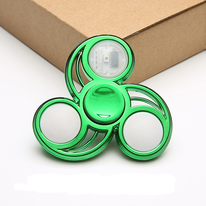 Relief-Toys Spinners Hand-Top Led-Light Finger-Stress img3