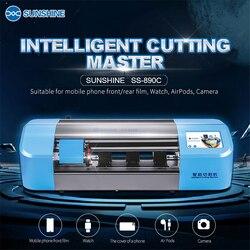 Machine de découpe de précision intelligente d'accessoires de haute qualité de SS-890C de soleil pour l'écran d'affichage à cristaux liquides de téléphone portable protègent la coupe de film