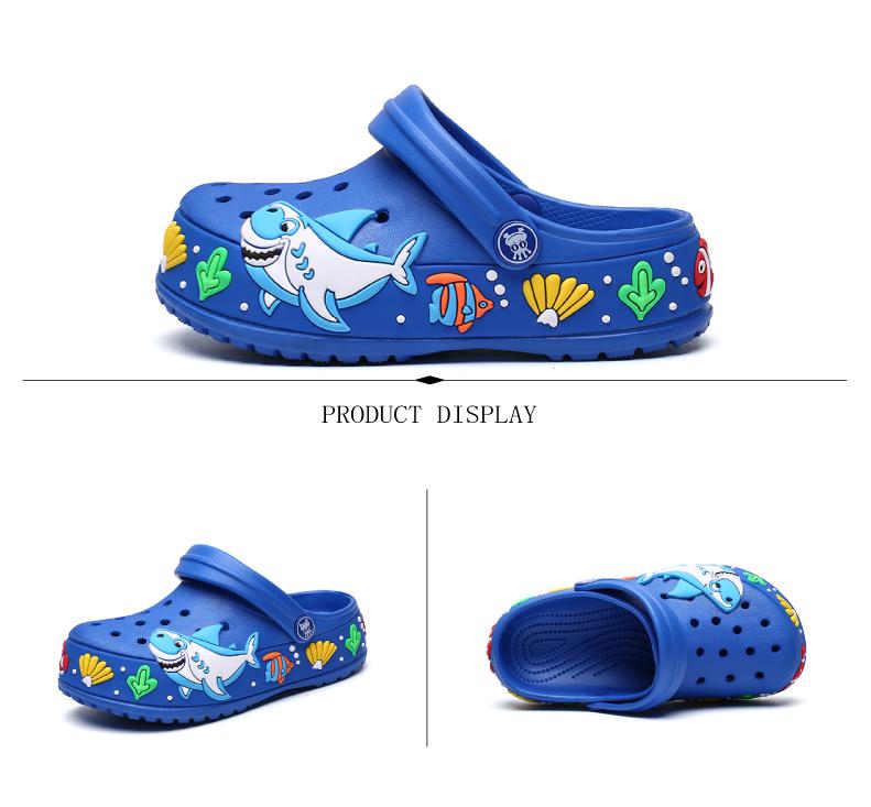 2017 New fashion children garden shoes children cartoon sandal babies summer slippers high quality kids garden children sandals (8)