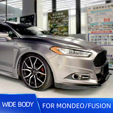 10pcs/set Wide Body Kit Rear and Front Fender Over Flares For Ford Mondeo Fusion 2013 14 15 16 17 18 19 FRP Materials Parts