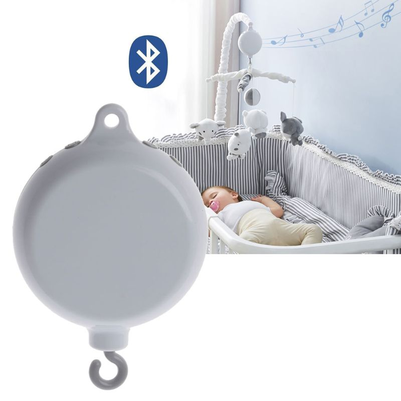 35 Songs Rotary Baby Mobile Crib Bed Bell Toy USB Bluetooth Music Box Bell Crib Electric Baby Toy