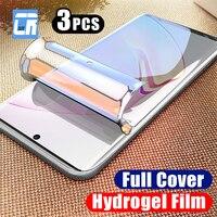 1-3Pcs Hydrogel Film Für Samsung Galaxy S21 Ultra S10e A72 A52 A32 M51 M31S M21 A6 A7 a8 A9 J6 J8 2018 S20 FE Screen Protector