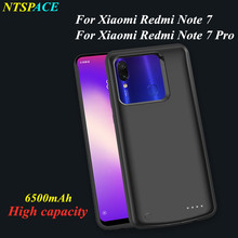 External Battery Power Cover 6500mAh Charger Case For Xiaomi Redmi Note 7 Pro Backup Power Bank Charging Case for Redmi Note 7