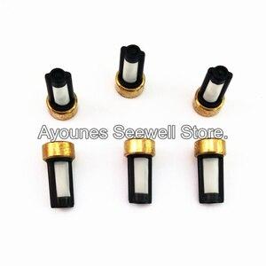 Image 4 - 500 pezzi iniettore carburante filtro ASNU03C 11001 formato 12*6*3mm auto pezzi di ricambio microfiltro misura per bosch iniettore di riparazione (AY F101)