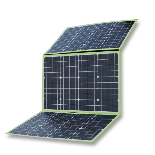 150w 50w*3 20v mono solar panel flexible foldable for home charger kit controller 5v usb for 12v RV car battery camping travel 4