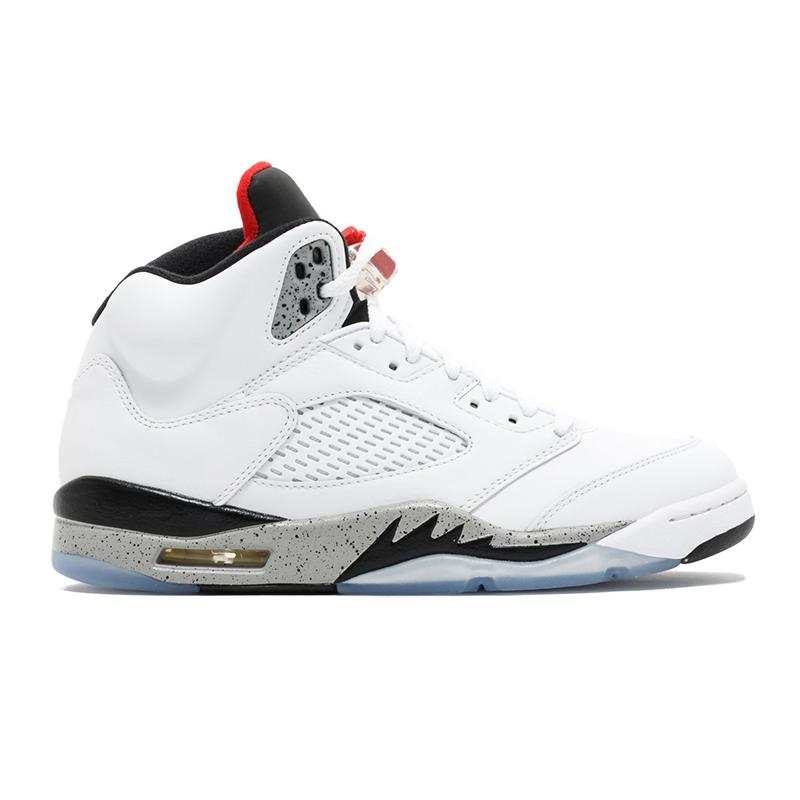 Big Sale╙New 5s mens basketball shoes 5 Fire Red Ice Blue LANEY Desert Camo Fresh Prince Olympic WHITE CEMENT jordan men sports sneakers