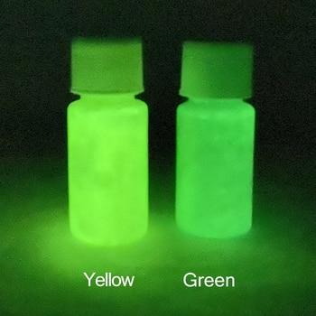 Glow in the Dark 2 Bottles Luminous Paint for Arts Crafts Party Decorations Green Phosphor Pigment 2 juxtapoz dark arts