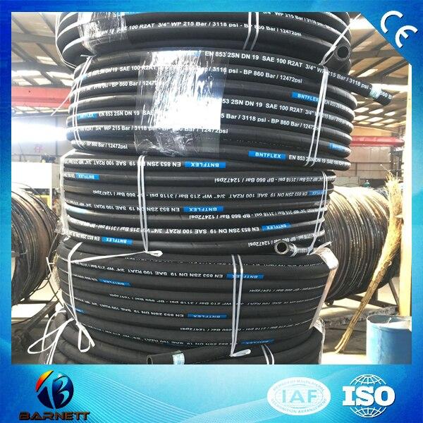 Купить 100 метров dn6 1/4 дюйма r1 один стальной провод плетеный гидравлический