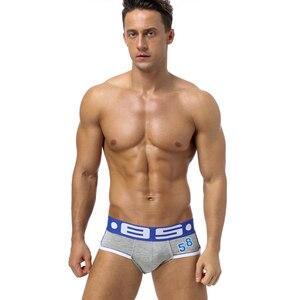 Image 5 - 6Pcs/Lot Sexy Underwear Men Boxer Homme Mens Underwear Boxershorts Men Boxers Sexy Boxer Shorts 6 Color Print Cueca Panties