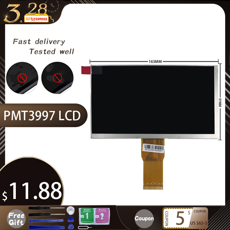 New LCD Display Matrix For 7 Inch Prestigio Smartkids PMT3997 Smart Kids PMT3997 Inner LCD Screen Module Replacement