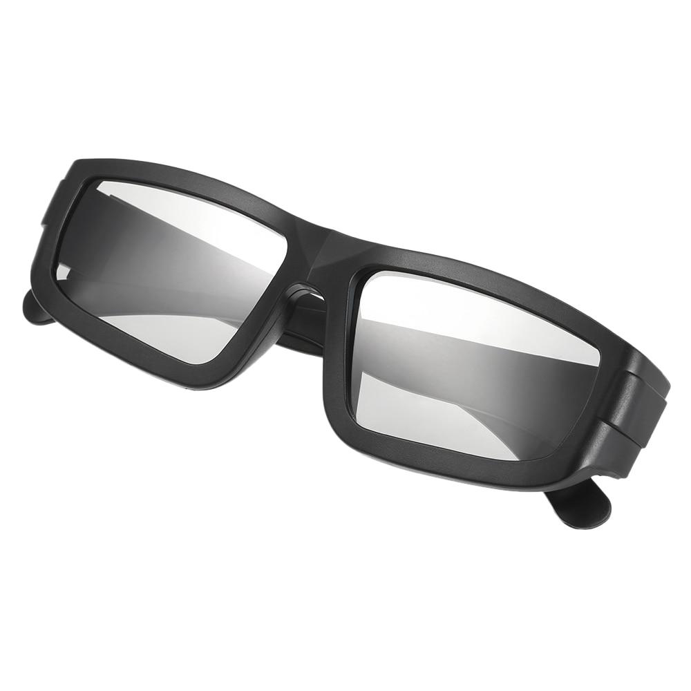 Passive 3D Glasses Circular Polarized Lenses for Polarized TV Real D 3D Cinemas for Sony Panasonic LG Philips Toshiba