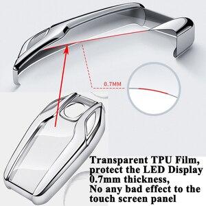 Image 4 - SEEYULE coque de clé TPU écran LED de voiture, accessoires pour BMW 5, 6, 7, G11, G12, G30, G31, G32, i8, I12, I15, X3, G01, X4, G02, X5, G05, X7, G07